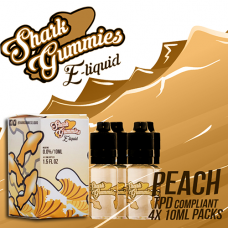 SHARK GUMMYS PEACH