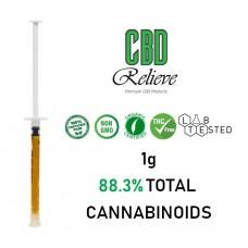 CBD Relieve 1g/3g Full Spectrum Rich Hemp Oil