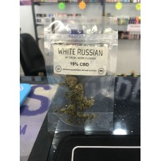 white russian cbd flower